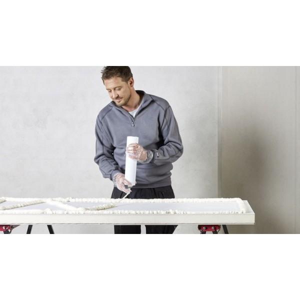 Encollage Isolant polyurethane Mur Eurothane G Ba13+PU panneau polyurethane