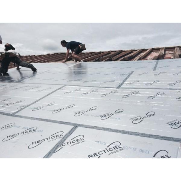 Pose toiture Isolant polyurethane Sarking Eurotoit
