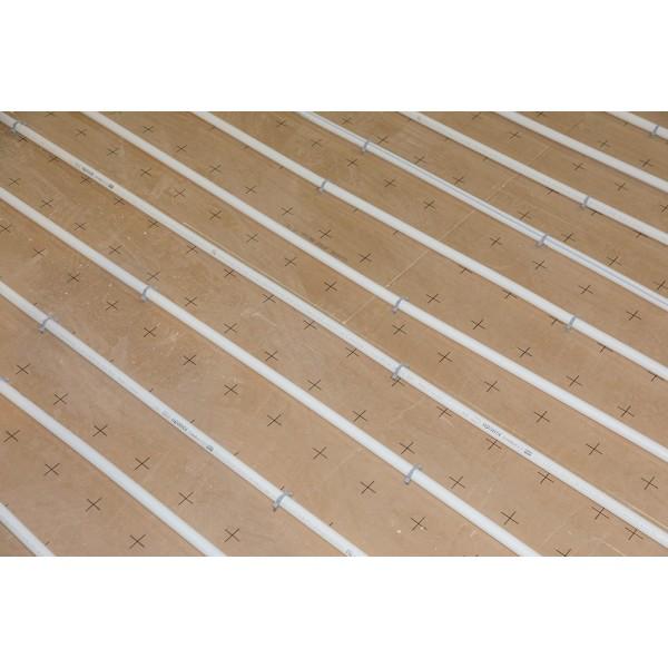 Dalle sol polyurethane type TMS Eurosol plancher chauffant