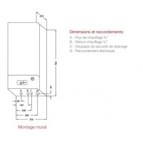 """Distributeur Liquide 6 à 17 brins pour Capteur Fluide 3/8"""""""