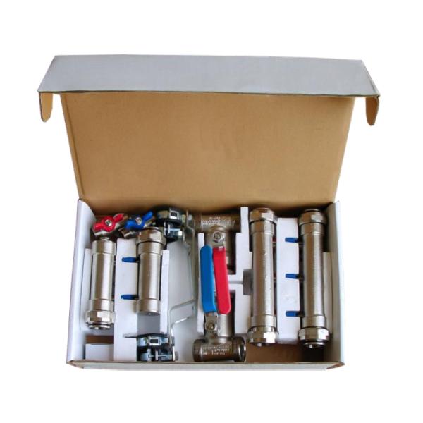 Collecteur capteur géothermique horizontal DN20-DN25