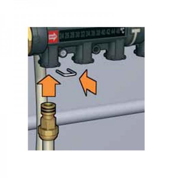 Collecteur plancher chauffant hydronic