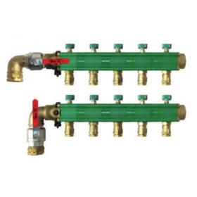 Collecteur capteur geothermique DN32