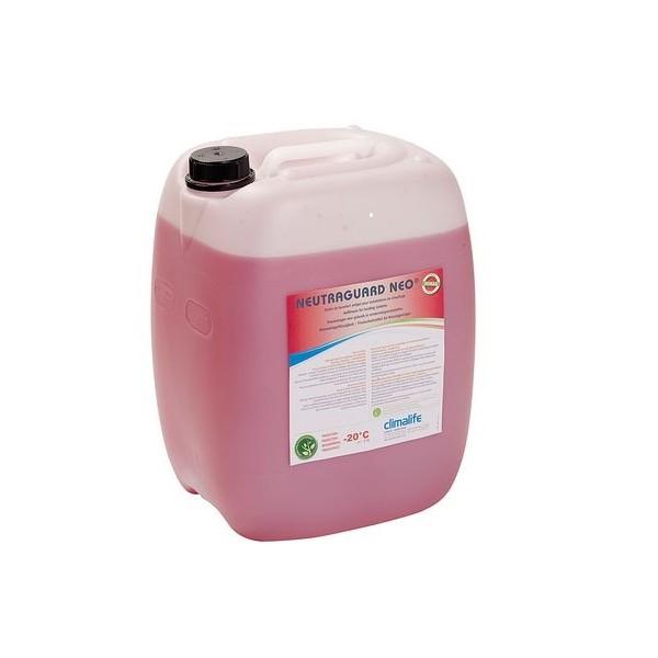 Antigel - fluide caloporteur Neutragard Neo pour plancher chauffant, capteur géothermique