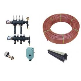 Plancher chauffant electrique Kit TNC Trame 10-45