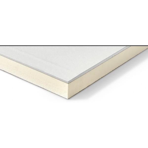 Isolant polyurethane Mur Eurothane G Ba13+PU panneau polyurethane
